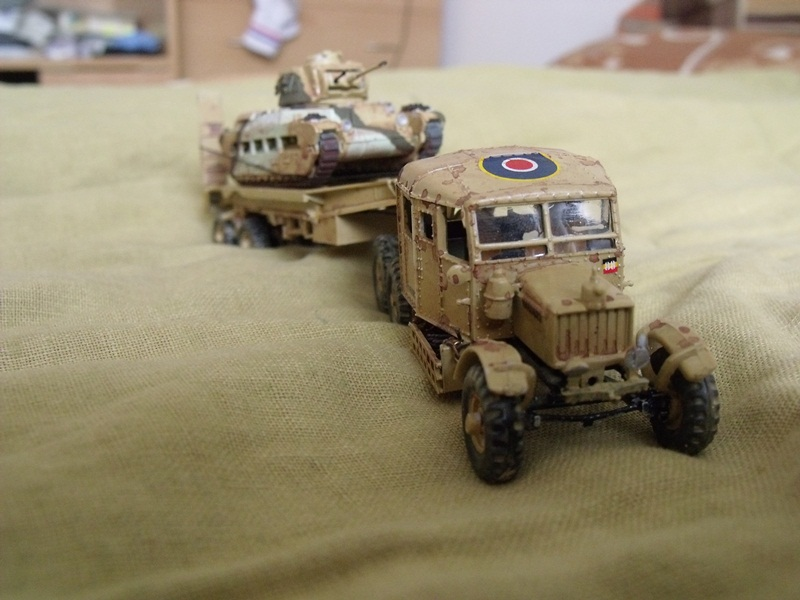 model Scammell Pioneer